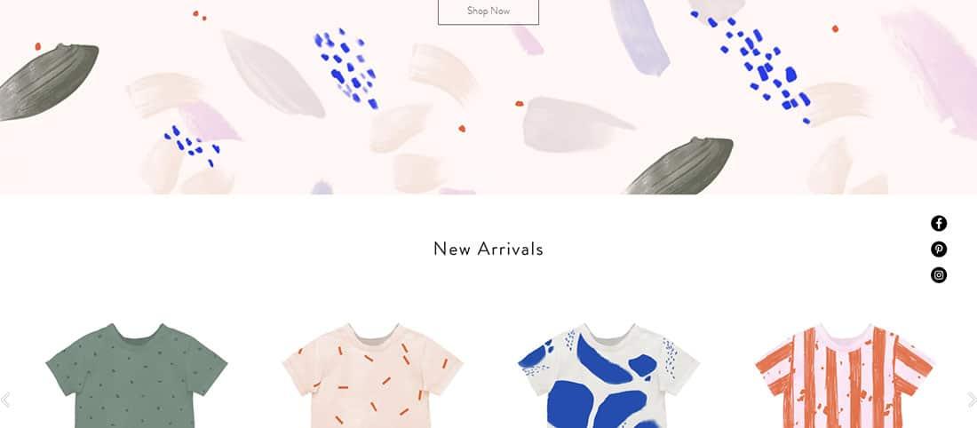 Kids Apparel Website