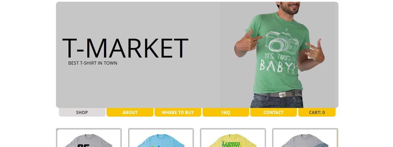 20 Beautiful Free Retail Fashion Website Templates