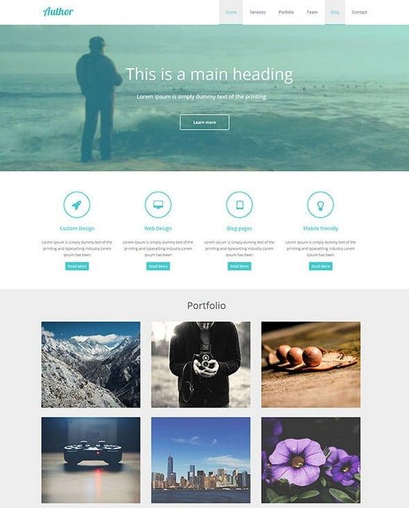 free website design templates - 20 free responsive html5 templates