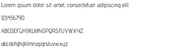 Advent Pro Font