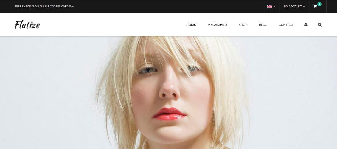 Flatize - Fashion WooCommerce WordPress Theme