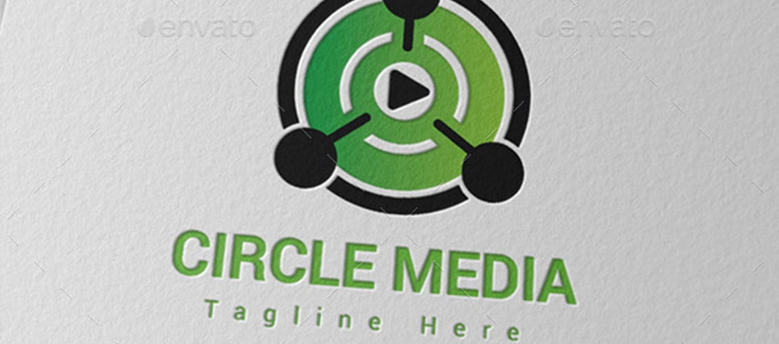 Circle Media Player Logo