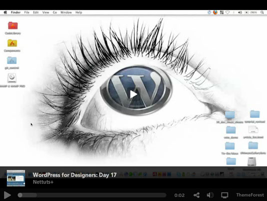 WordPress for designers