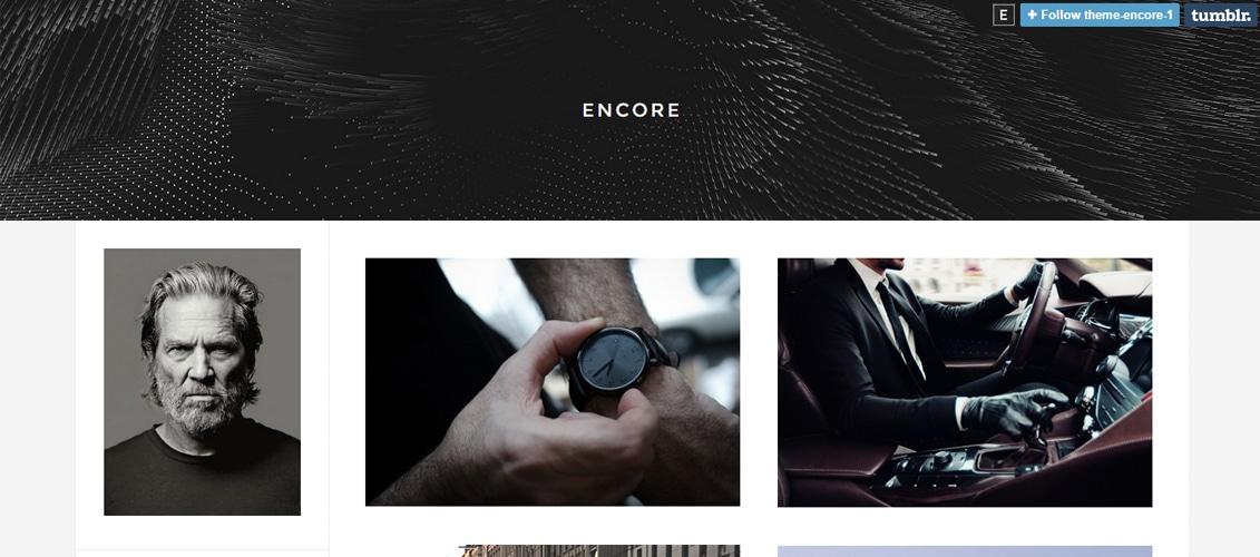 Encore Tumblr Theme