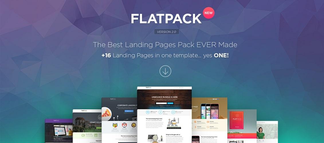 FLATPACK - Multipurpose Unbounce Pack