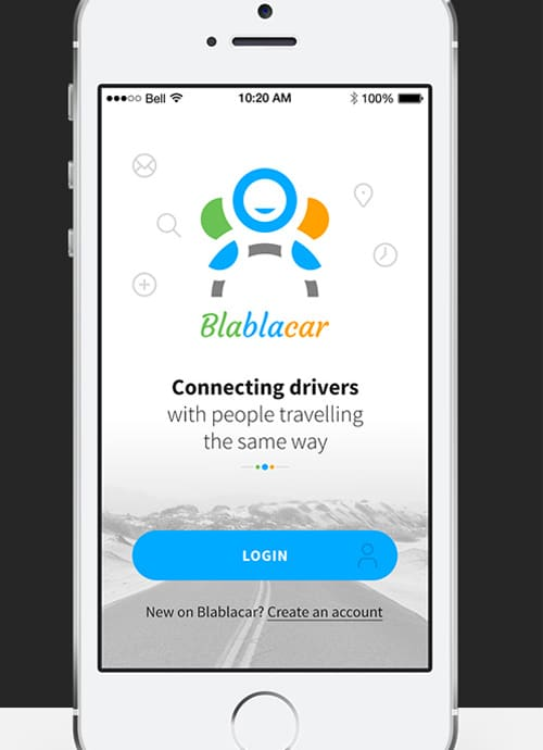 Blablacar App Concept