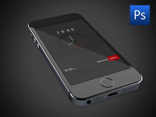 Free PSD Alarm App U