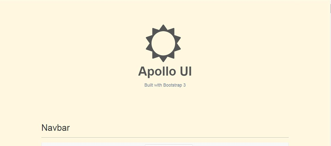 Apollo - Bootstrap Skin