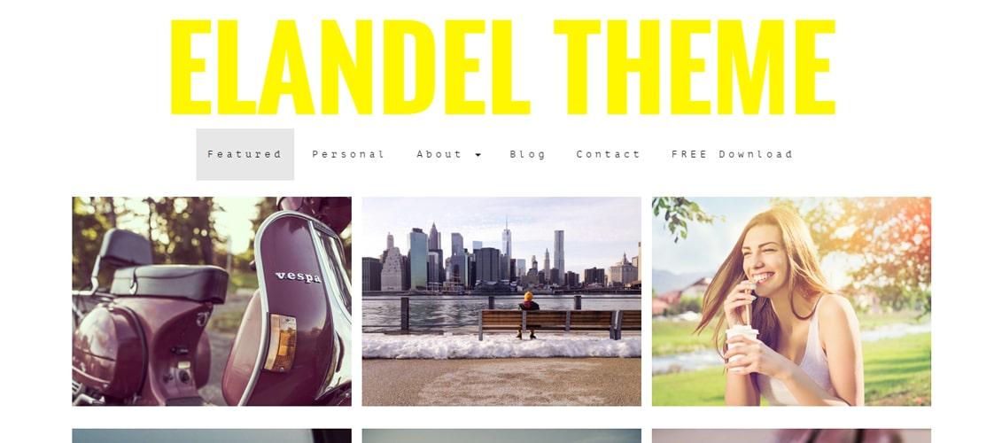 Elandel Photography Theme
