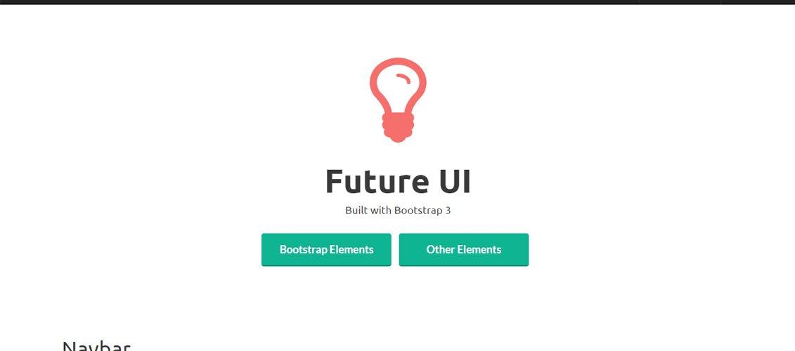 Future UI - Bootstrap 3 Skin