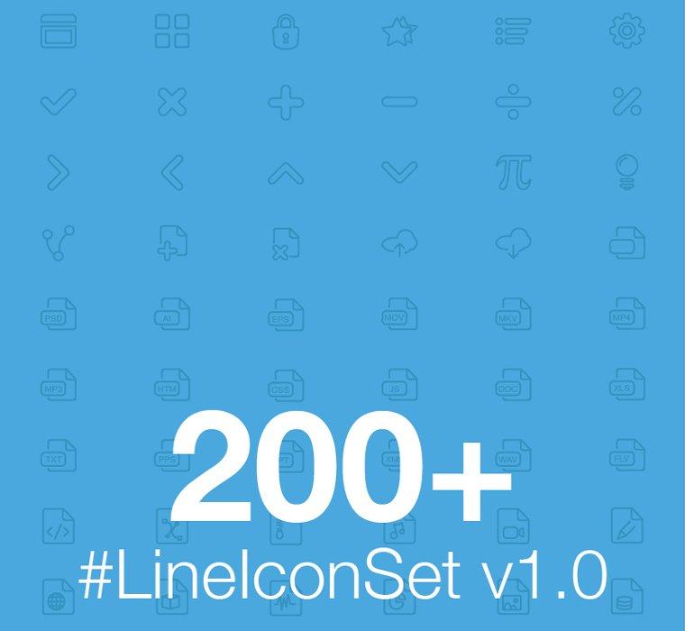 LINEICON SET
