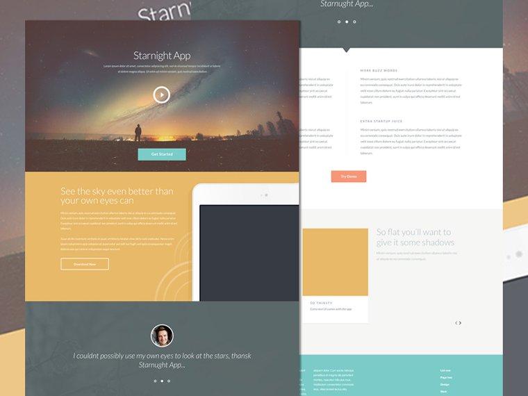 STARNIGHT HTML5 CSS3 TEMPLATE