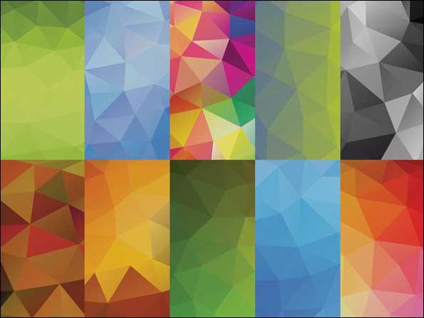 10 Geometric Backgrounds Vol 2