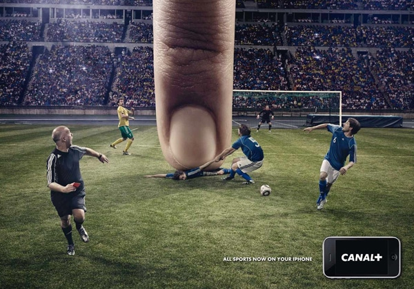 creative advertisement smart