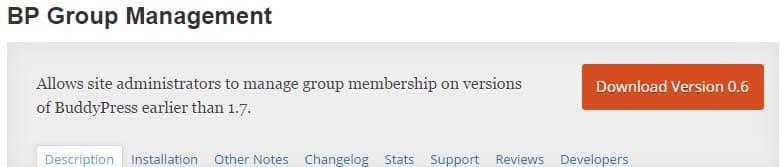 BP Group Management