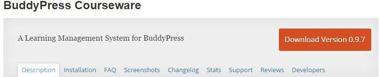 BuddyPress Courseware