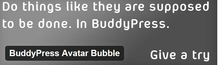 CD BP Avatar Bubble
