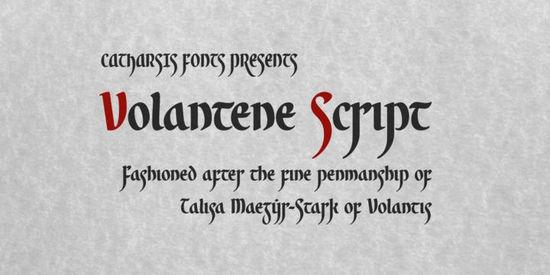 Volantene Script