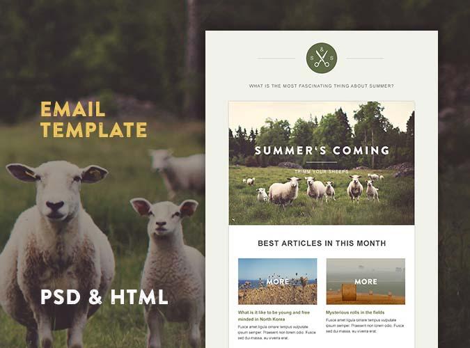 Green Village HTML Template