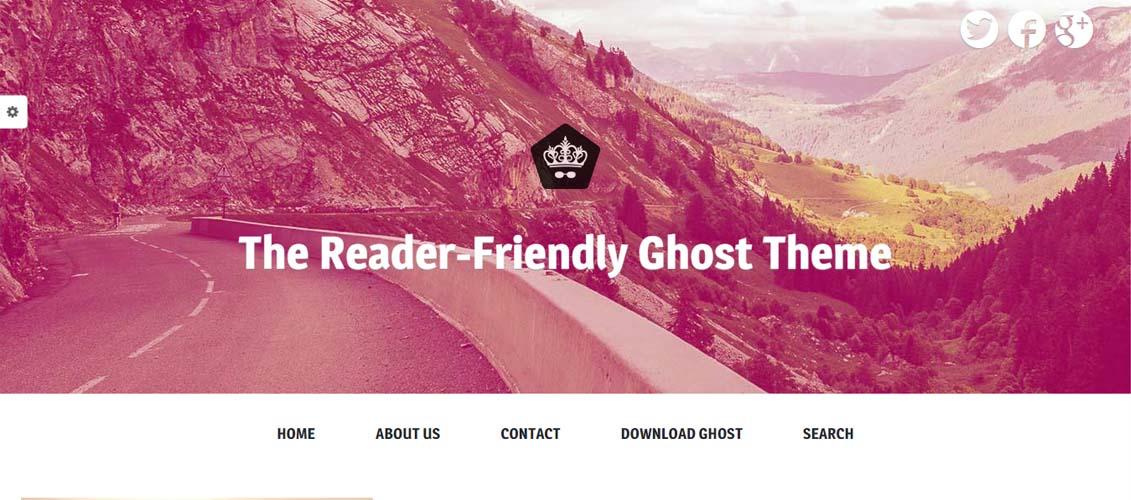 Readable Responsive Theme Focusing on Readability
