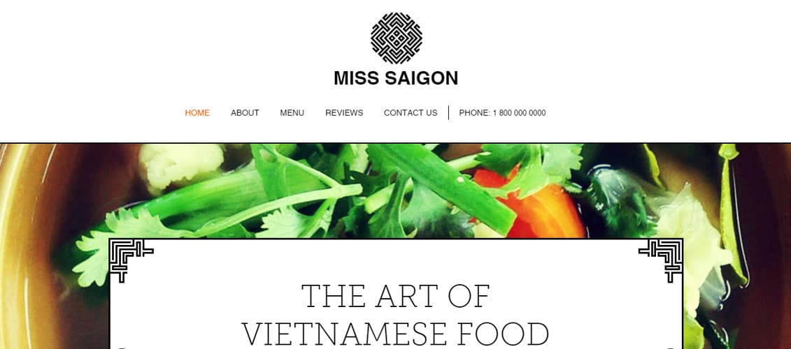 Vietnamese Restaurant Template