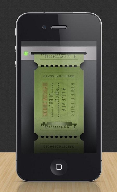 iPhone-Ticket