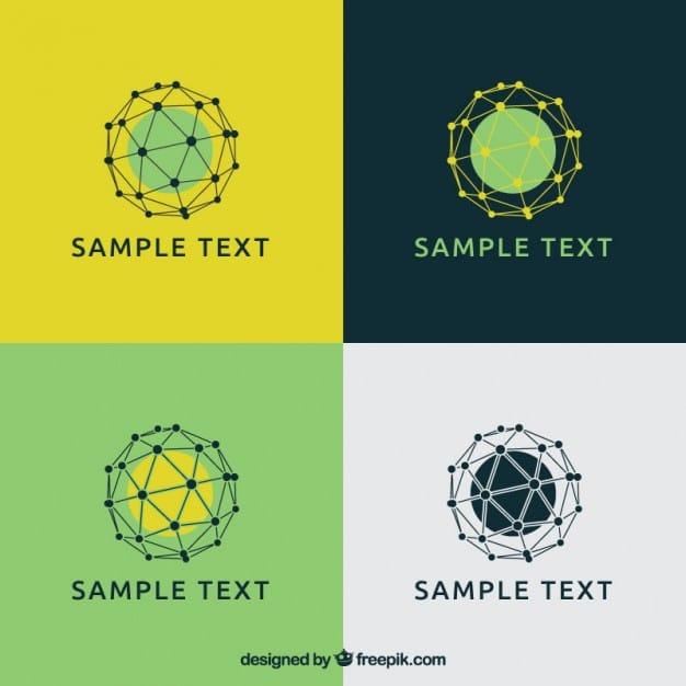 Mesh Free Logo Template