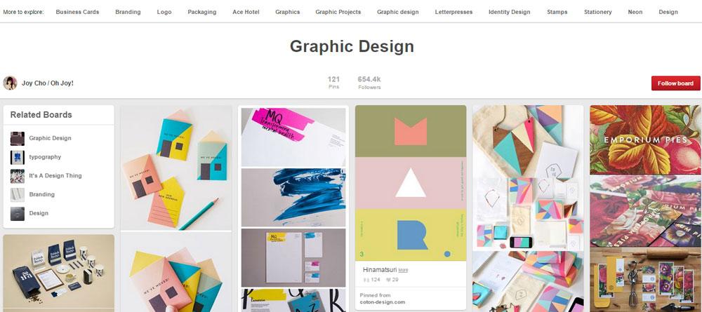 30 Creative Pinterest Design Boards You'd Love!