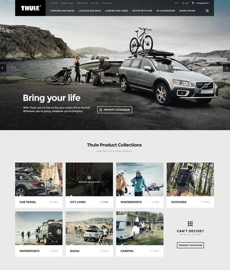 Thule Modern Web Designs