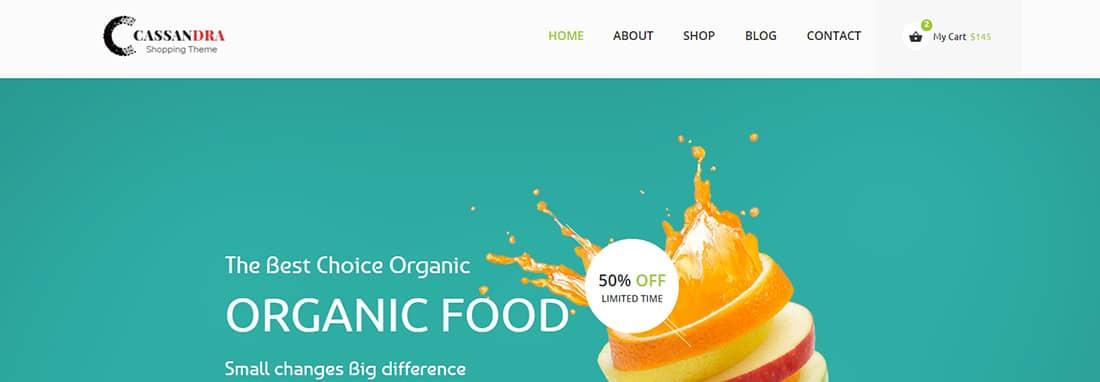 Cassandra - Organic Ecwid Themes