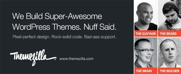 Themezilla Top ThemeForest Author