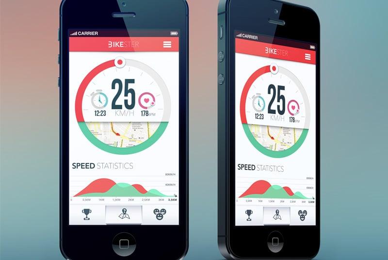 Bikester UI Mobile Charts