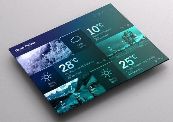 Weather Dashboard UX