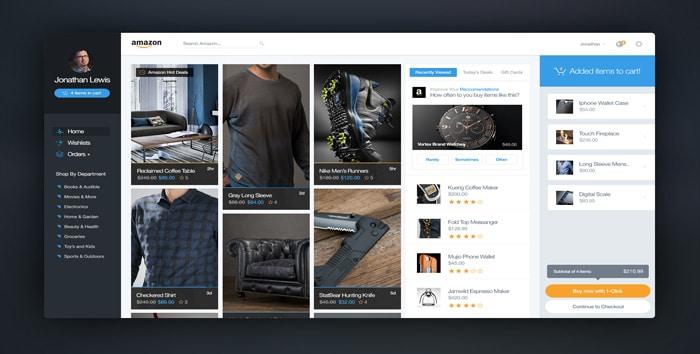 Amazon-com-Redesign