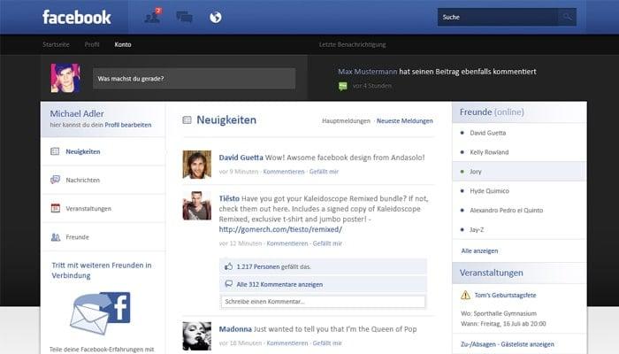 Facebook-Re-Design