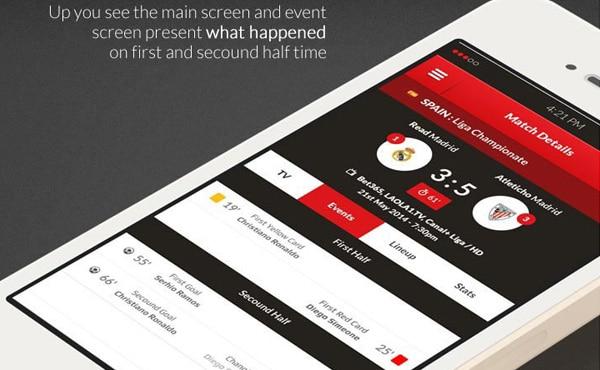 Football-Schedules-App-Design