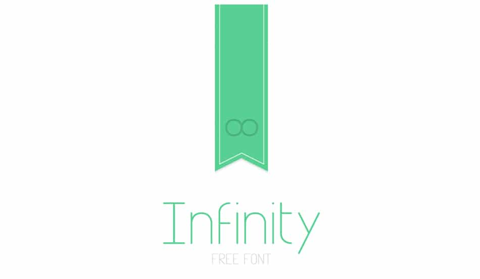Infinity Free Minimalist Font