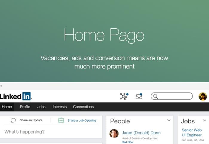 LinkedIn-Redesign-Concept-on-Behance
