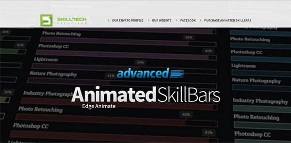 Advanced-Animated-Skill-Bars---Edge-Animate