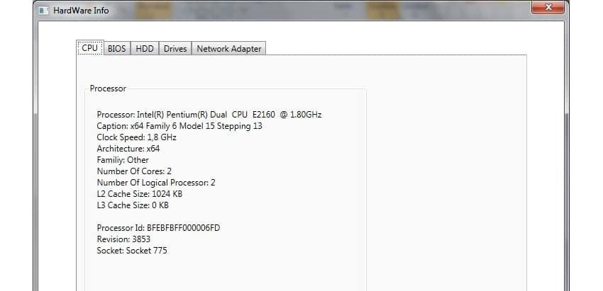 HardwareLib net codes