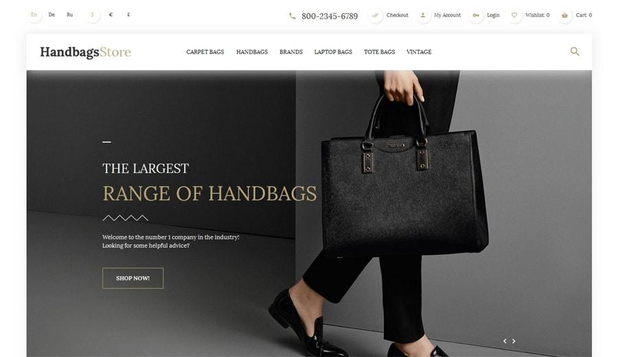 handbags-opencart-template