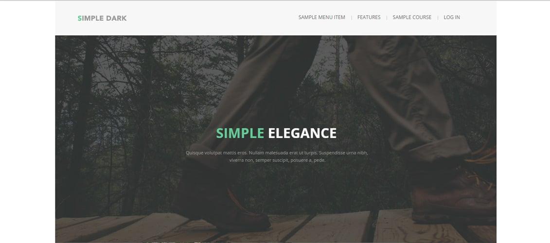 Simpledark---Responsive-Moodle-Theme