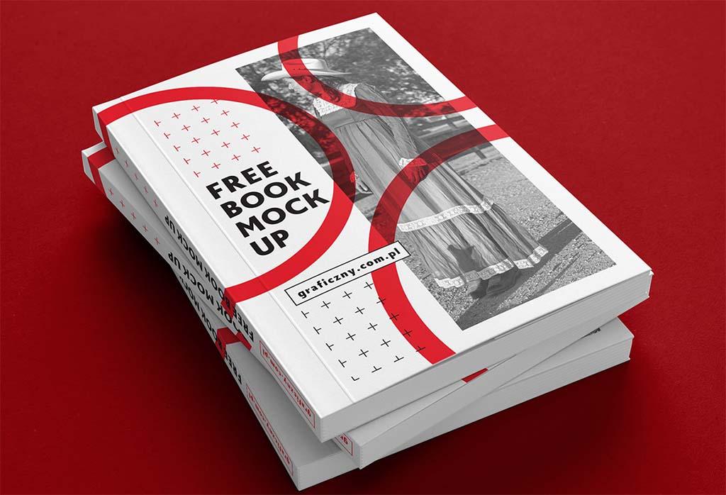 21 Clean Book Mockup Bundle
