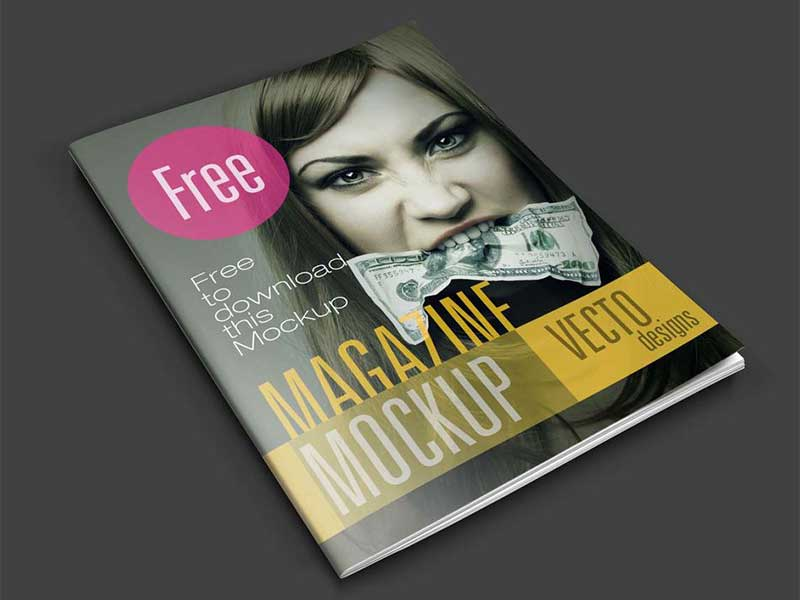 Complete Magazine Mockup