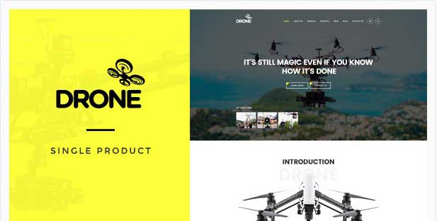 6-Drone woocommerce theme