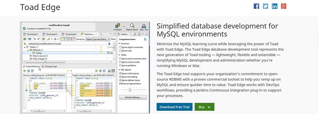 Best MySQL database admin, management and development tool