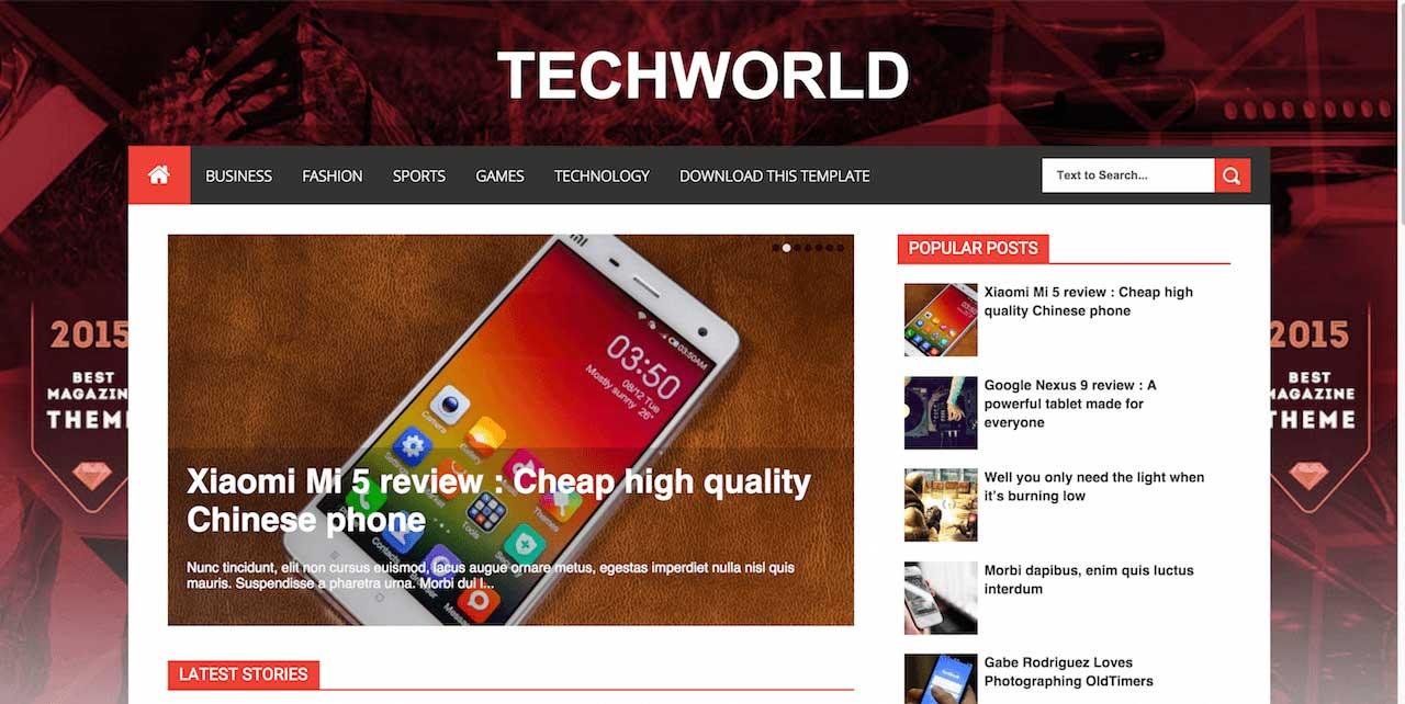 11-TechWorld-Blogger-Template
