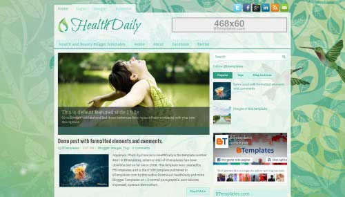 12-HealthDaily-Blogger-Template