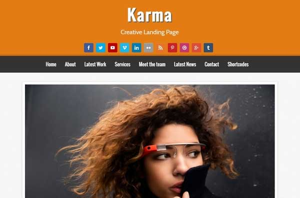 22-KARMA-Blogger-Template