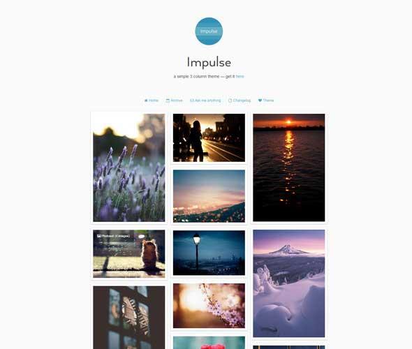 24 Impulse Tumblr Theme